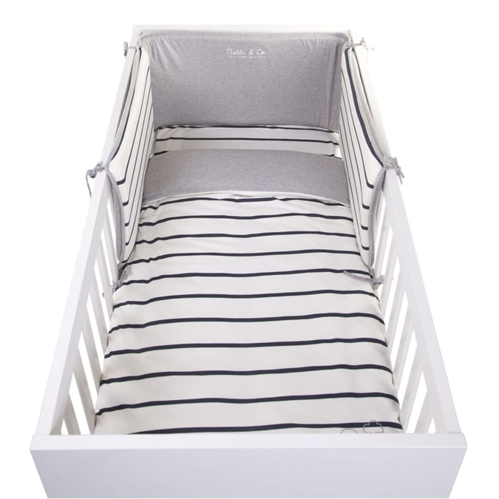 acheter childwood housse de couette et taie d 39 oreiller marin jersey 100x140 cm pas cher. Black Bedroom Furniture Sets. Home Design Ideas
