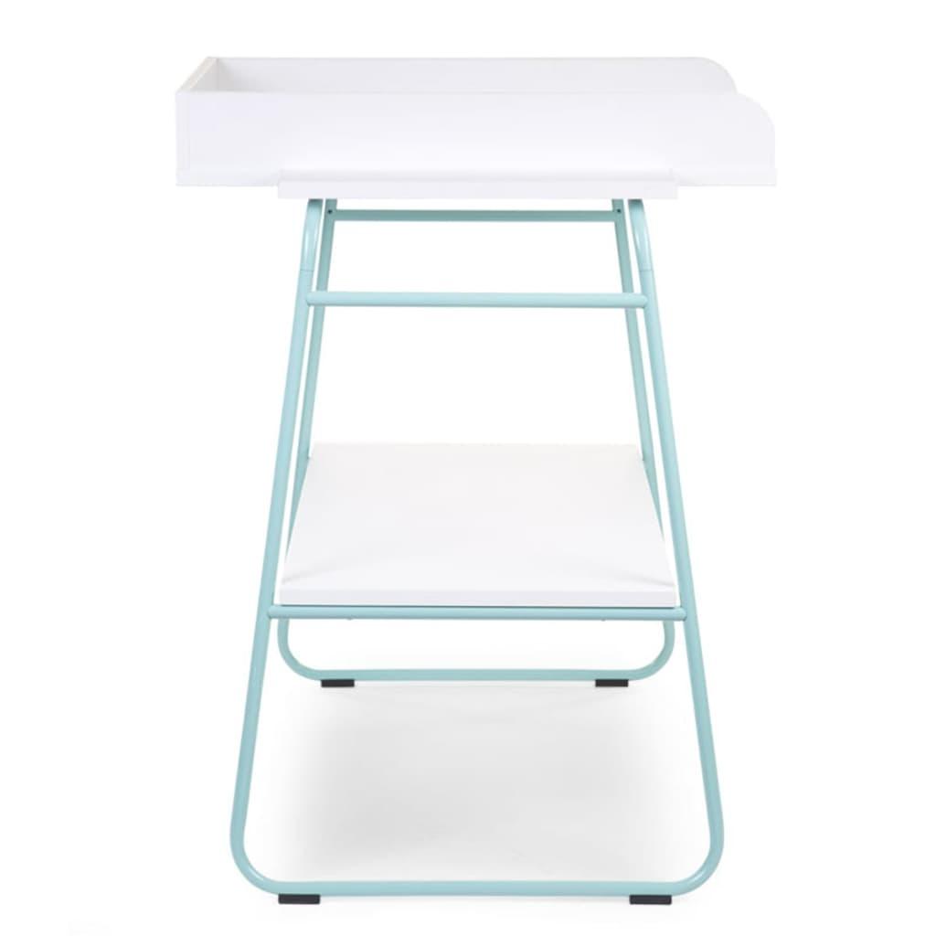 childwood wickeltisch holz minzgr n und wei chtimb g nstig kaufen. Black Bedroom Furniture Sets. Home Design Ideas