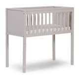 CHILDWOOD Spjälsäng 40x90 cm bokträ grå CRSG