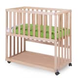 410701 CHILDWOOD Bedside Crib 50x90 cm Beech Natural BSCNNA - Untranslated