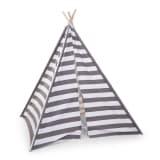 CHILDWOOD Tente Toile 135 x 150 x 130 cm Gris et blanc TIPSTR