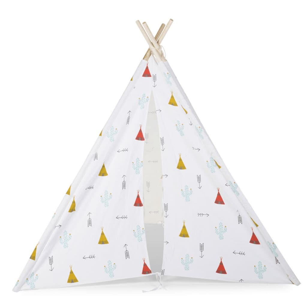 childwood tipi kinderzelt 143x135x135 cm wei tiptipi g nstig kaufen. Black Bedroom Furniture Sets. Home Design Ideas