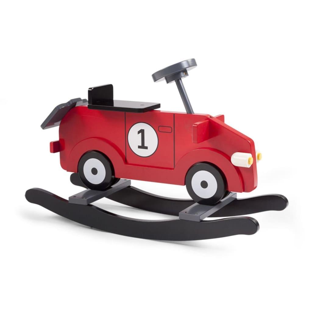 Childwood hobbelauto my first car rood en zwart cwrfcr - Eetkamer rood en zwart ...