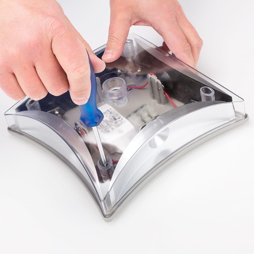 acheter smartwares lampe led murale 4 w blanc od2 fla sw pas cher. Black Bedroom Furniture Sets. Home Design Ideas