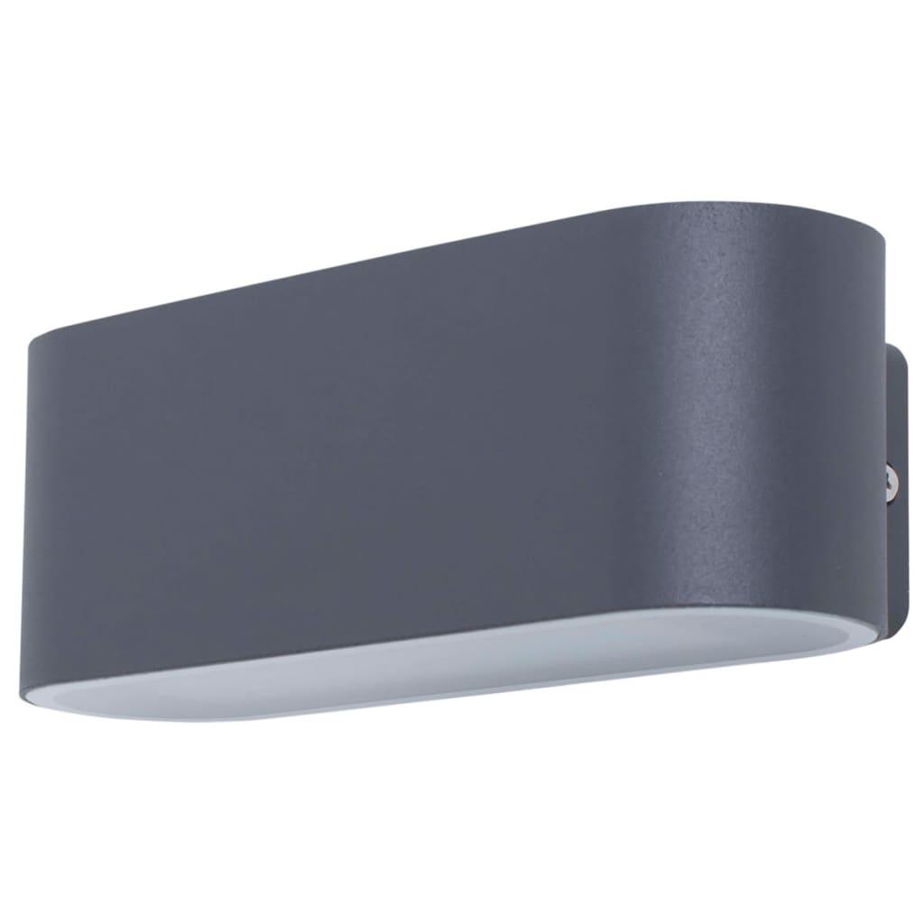 SMARTWARES Antracit 14 W-os Fenti és lenti LED fali lámpa GWI-002-HS