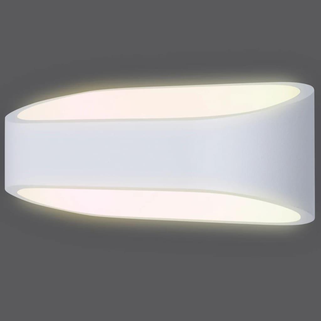 SMARTWARES Fehér 9 W-os Fenti és lenti LED fali lámpa GWI-001-HW