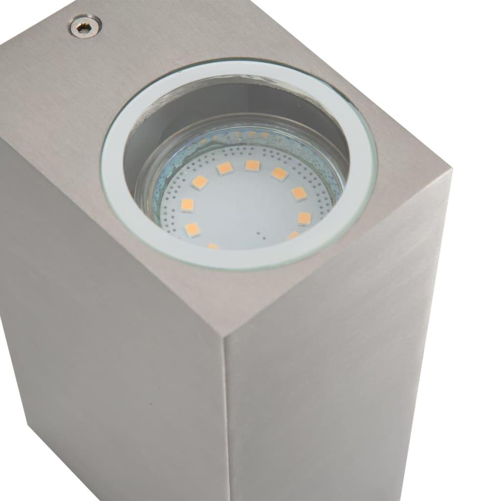 smartwares lampe murale led haut et bas 6 w chrome. Black Bedroom Furniture Sets. Home Design Ideas