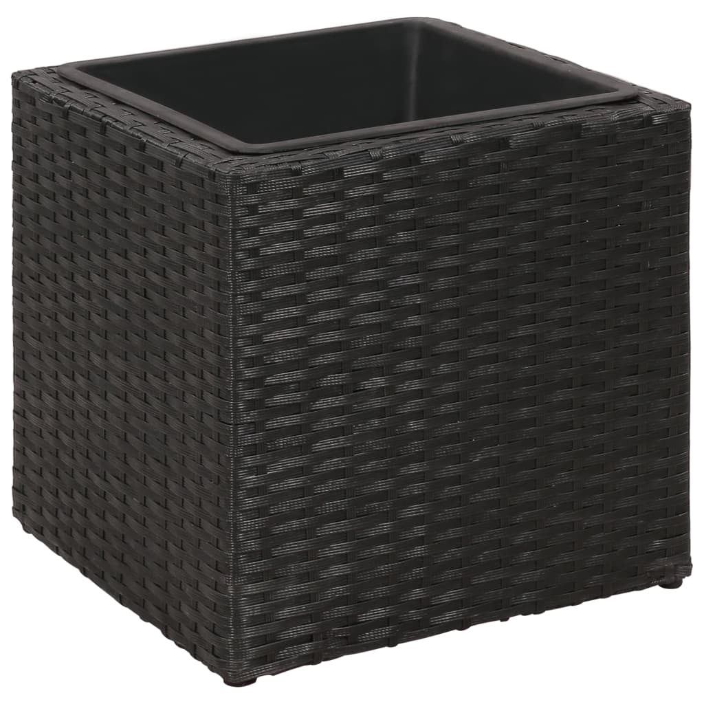 rotting blomsterpotte 3 stk svart. Black Bedroom Furniture Sets. Home Design Ideas