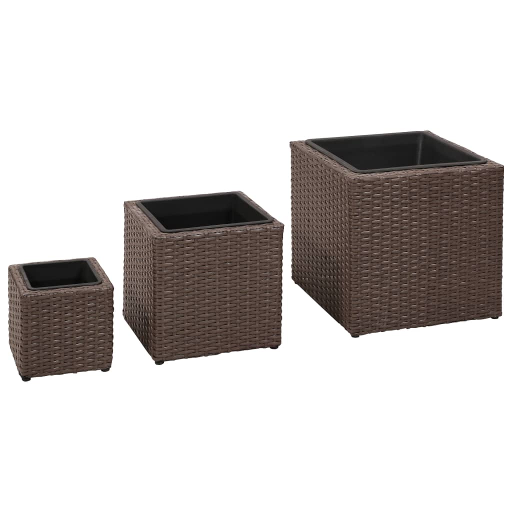 vidaxl-garden-square-rattan-planter-set-3-pcs-brown