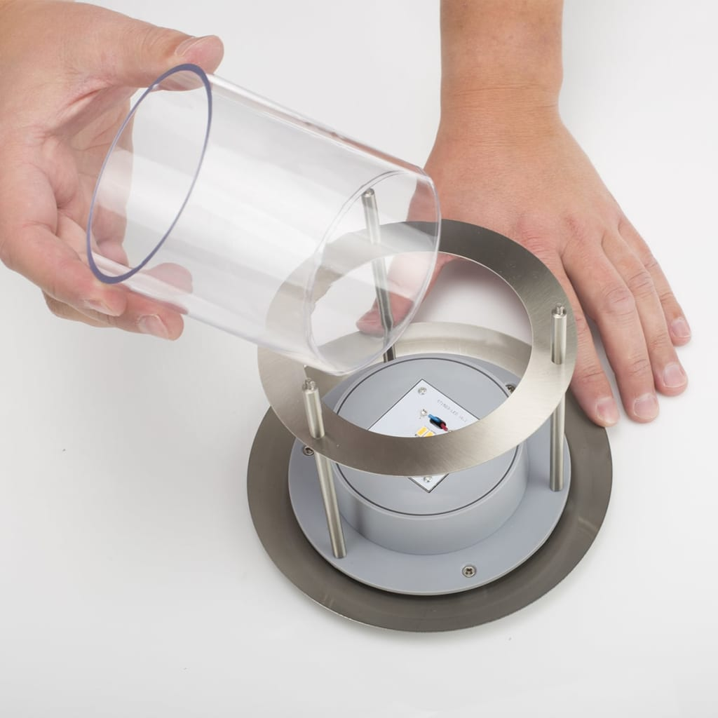 Smartwares Wall Light With Motion Detector Silver Gws 177