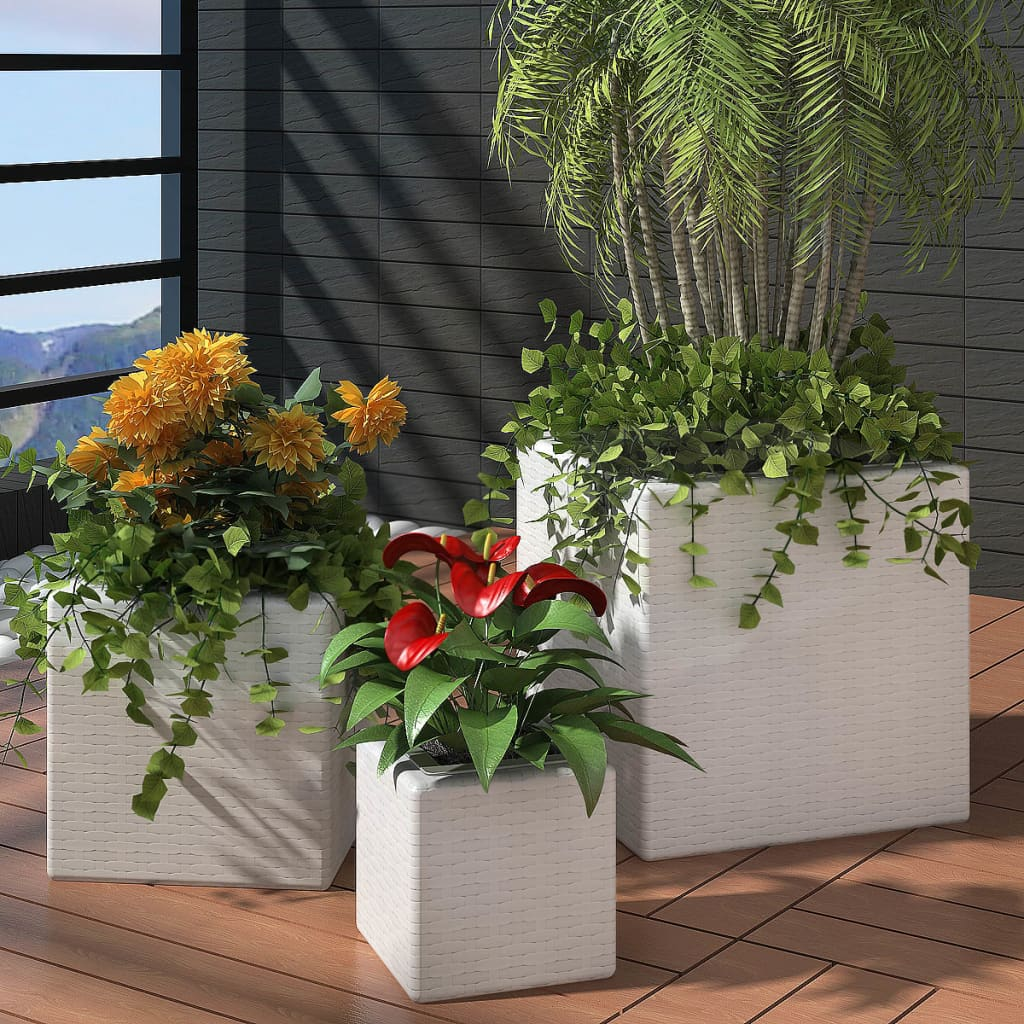 vidaxl-garden-square-rattan-planter-set-3-pcs-white