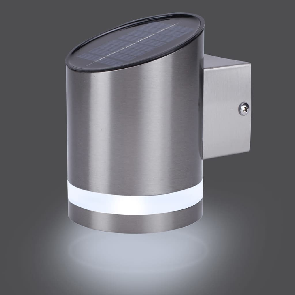 acheter smartwares lampe murale solaire avec capteur 0 5 w. Black Bedroom Furniture Sets. Home Design Ideas