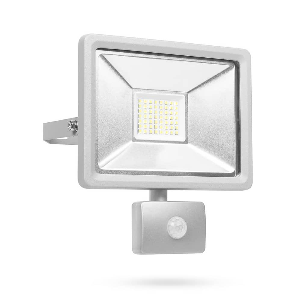 Afbeelding van Smartwares LED-beveiligingslamp met sensor 30 W grijs SL1-DOB30