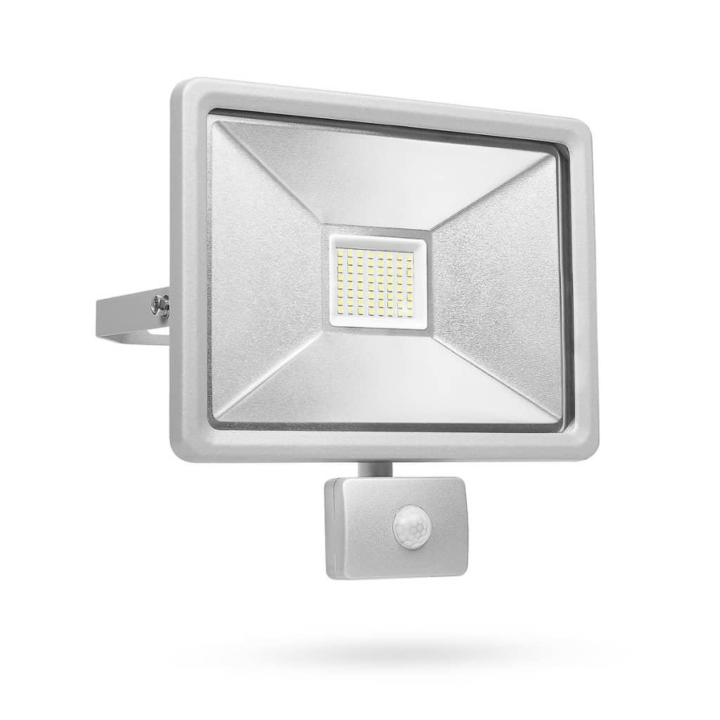Afbeelding van Smartwares LED-beveiligingslamp met sensor 50 W grijs SL1-DOB50