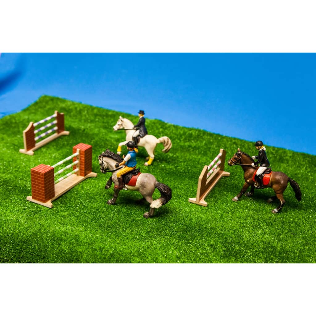 ... Kinds Globe Farm 3 Tlg. Set Hindernisse Für Pferde 1:24 610119[ ...