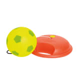 "MOOKIE Ballon de football ""Reflex"" Rouge et jaune 7225MK"
