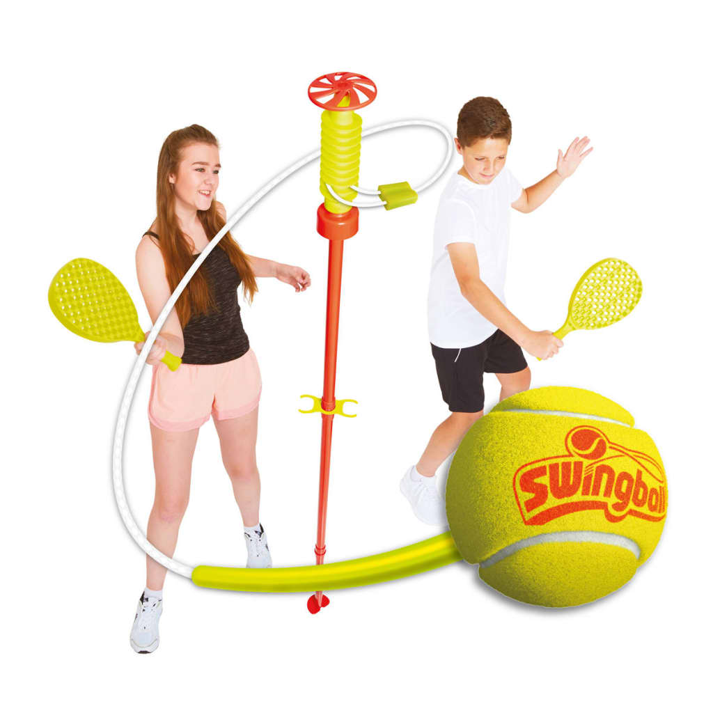 MOOKIE-Swingball-Outdoor-Tennis-Classic-Kids-Garden-Play-1-2-Player-160cm-7104MK