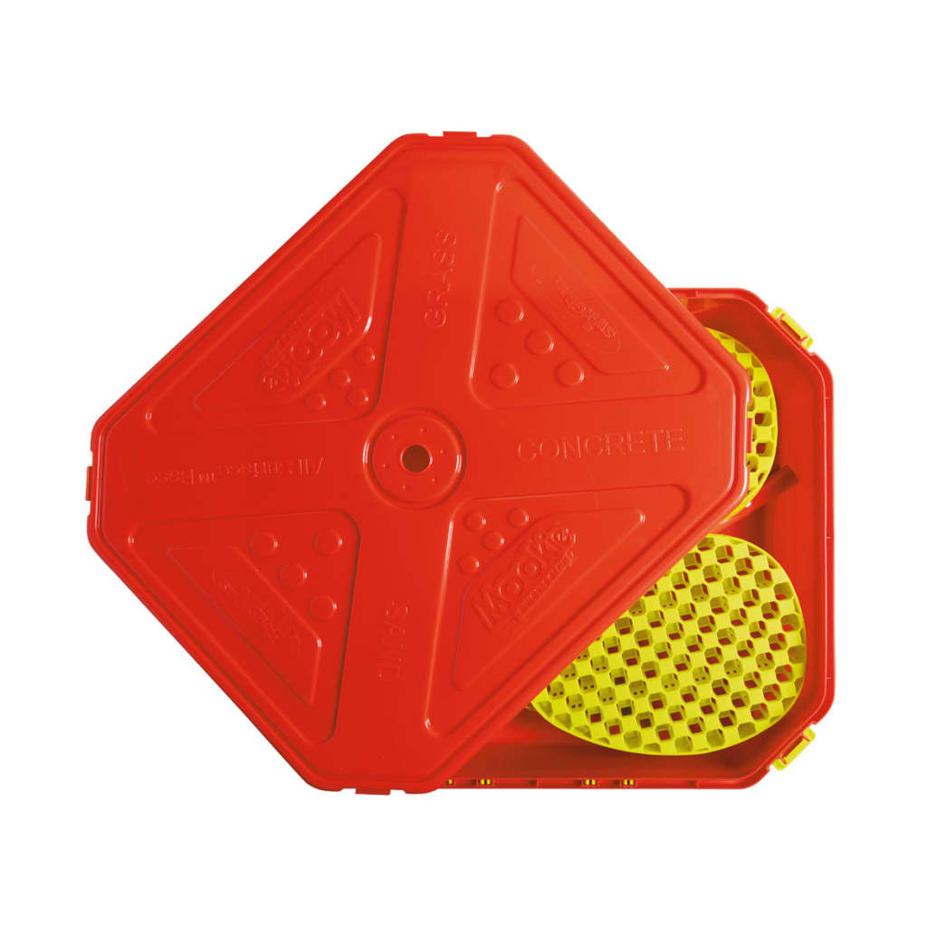 MOOKIE-Juego-de-Swingball-Tenis-para-Exterior-All-Surface-165cm-7227MK-Rojo