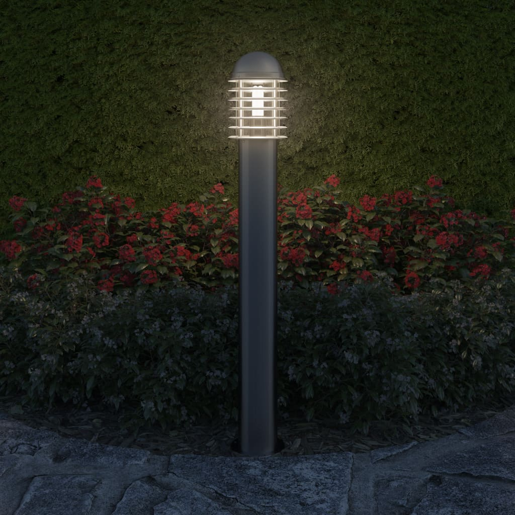 Vidaxl outdoor post lamp standing stainless steel