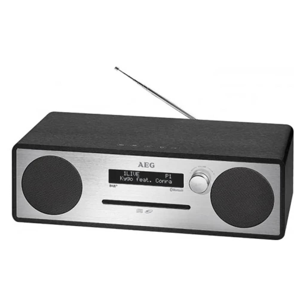 AEG 411051 DAB + Music Center MC 4469 Fekete 20 W