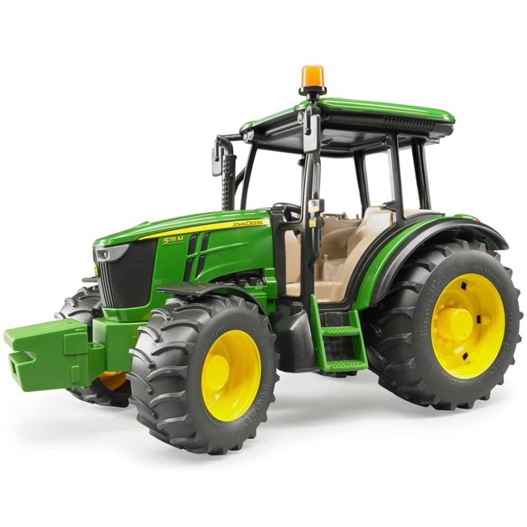 bruder tractor john deere 5115m 1 16 02106. Black Bedroom Furniture Sets. Home Design Ideas
