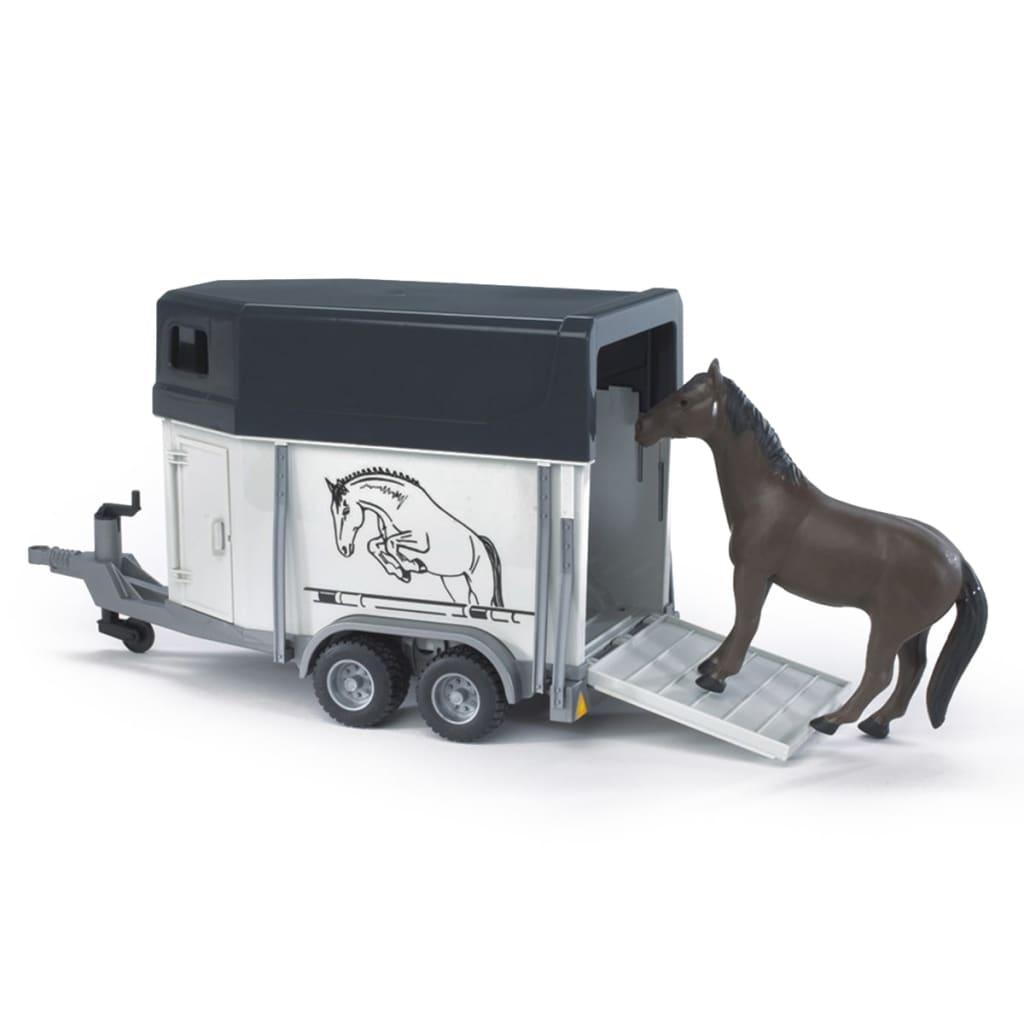 acheter bruder remorque pour chevaux 1 16 02028 pas cher. Black Bedroom Furniture Sets. Home Design Ideas