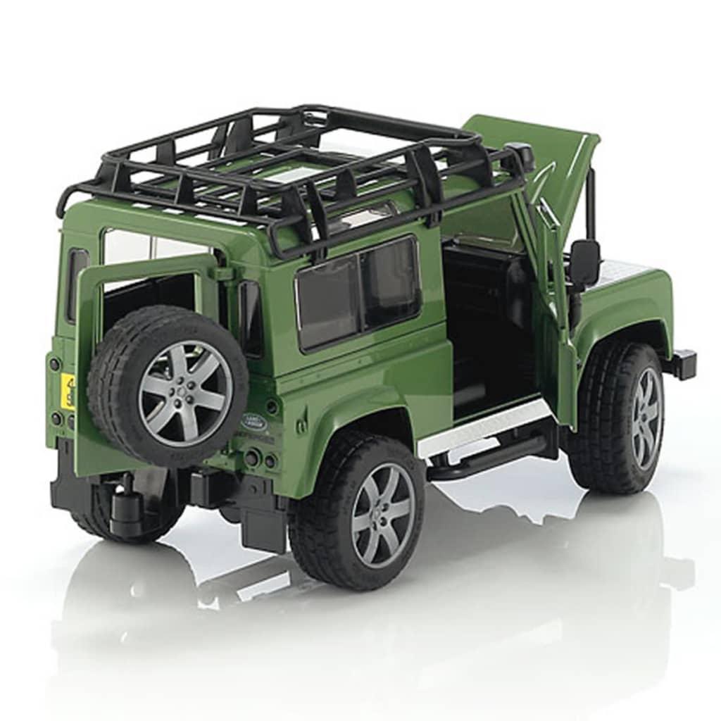 bruder v hicule tout terrain land rover defender 1 16. Black Bedroom Furniture Sets. Home Design Ideas