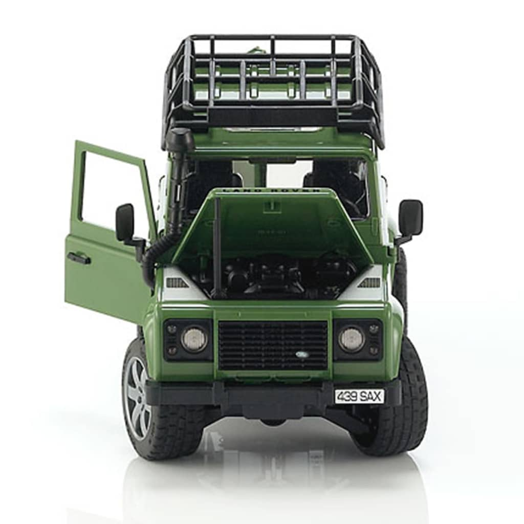acheter bruder v hicule tout terrain land rover defender 1 16 pas cher. Black Bedroom Furniture Sets. Home Design Ideas