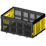 411118 Stanley Folding Utility Basket for Hand Trucks 25 kg SXWTD-FT505