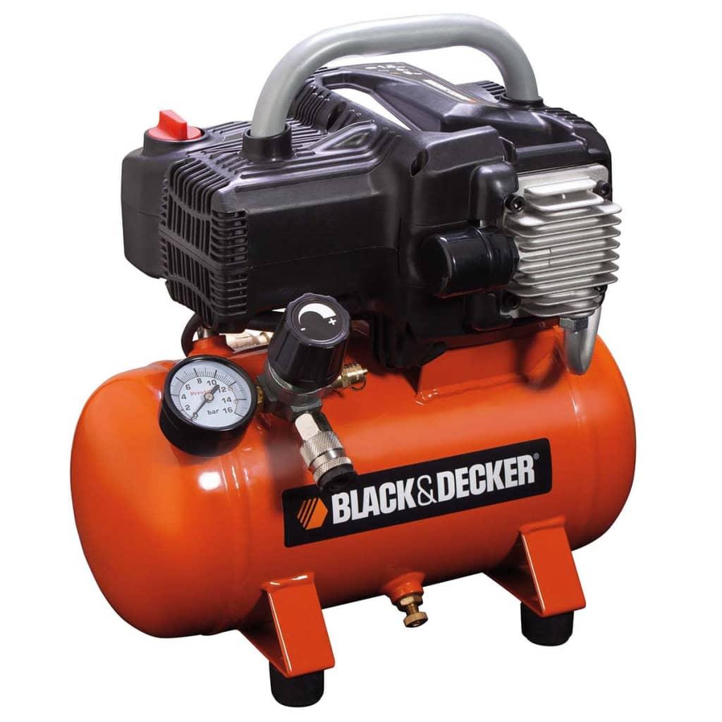 acheter black decker compresseur air 6 l nkbb304bnd008 pas cher. Black Bedroom Furniture Sets. Home Design Ideas