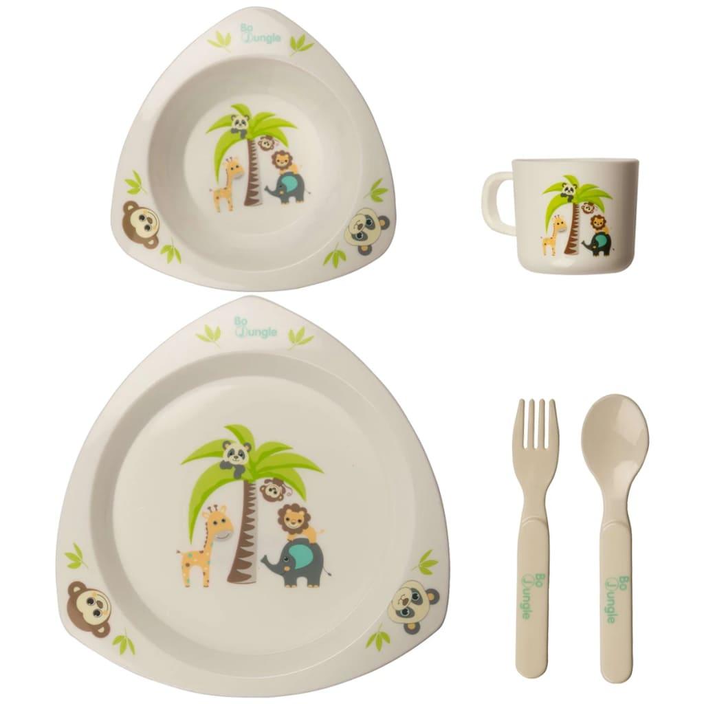 Bo jungle conjunto utensilios de comedor para beb for Comedor para bebe