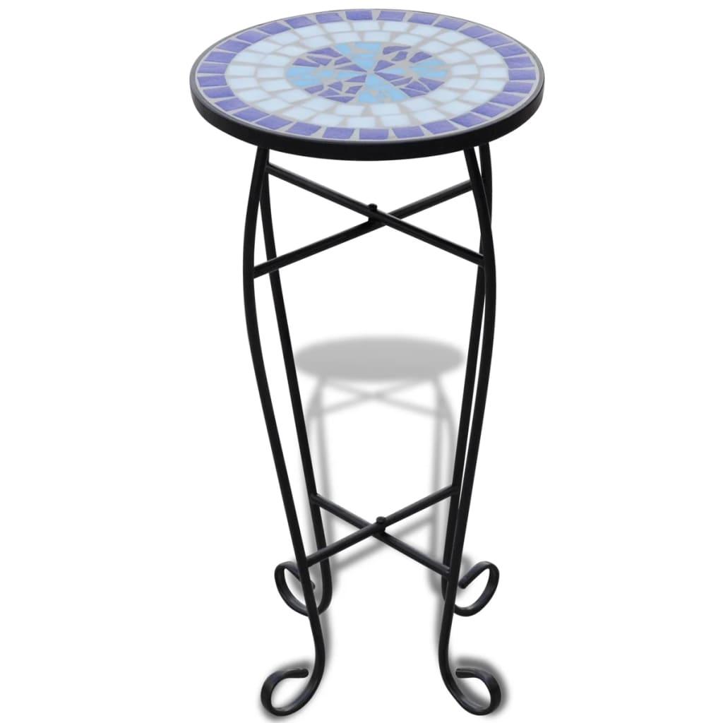 der mosaik beistelltisch tisch bistrotisch blumenst nder. Black Bedroom Furniture Sets. Home Design Ideas