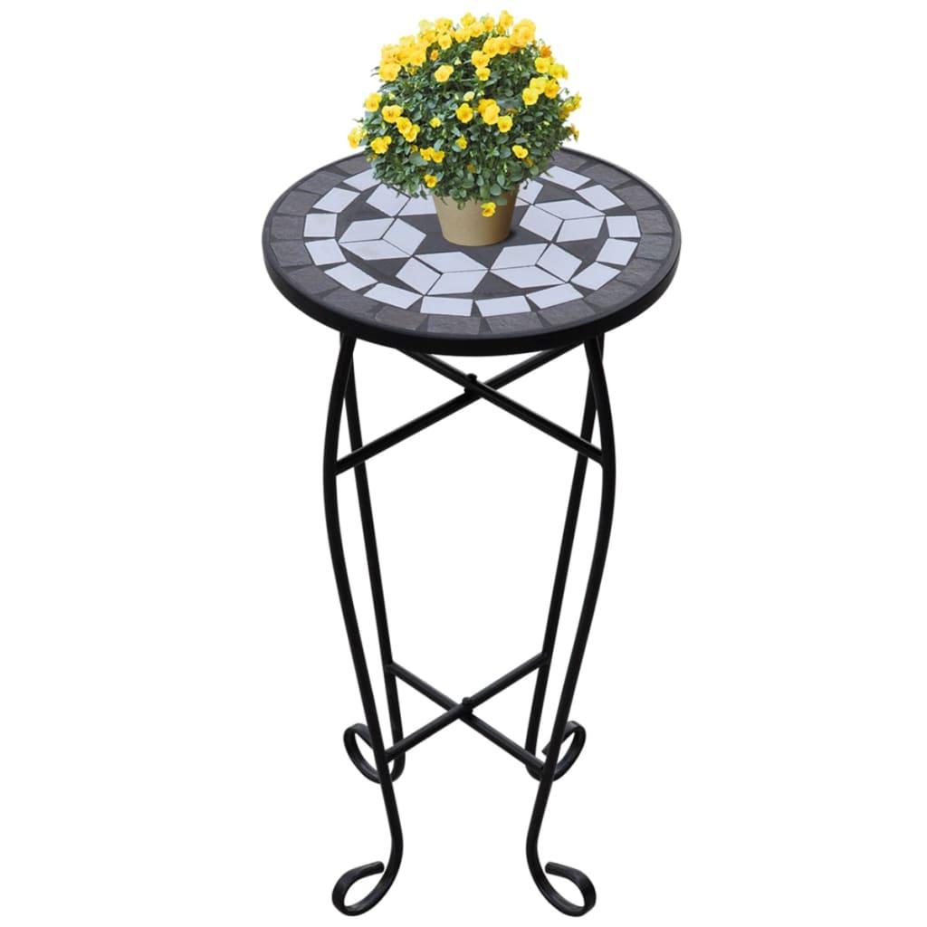 mosaik beistelltisch tisch bistrotisch blumenst nder. Black Bedroom Furniture Sets. Home Design Ideas