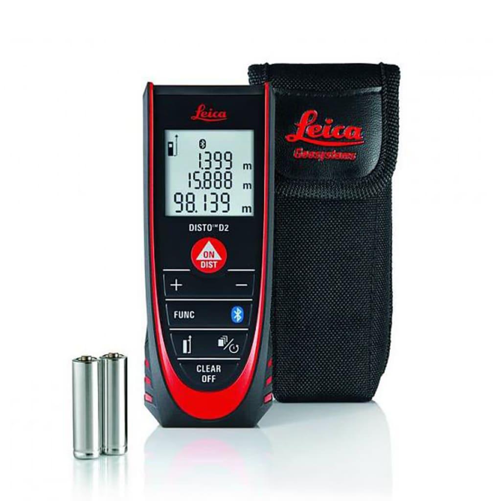 Afbeelding van Leica Laser afstandsmeter Disto D2 100 m Bluetooth 837031