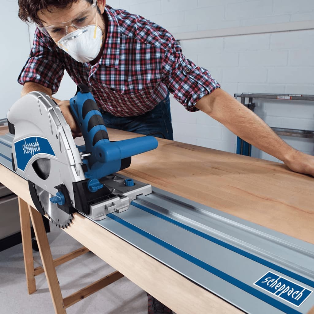 acheter scheppach scie plongeante pl75 1600 w 210 mm pas cher. Black Bedroom Furniture Sets. Home Design Ideas