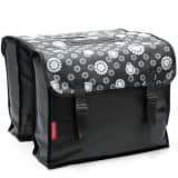 New Looxs Cameo Double Pannier Bicycle Bag 30 L Flower Black RT0917