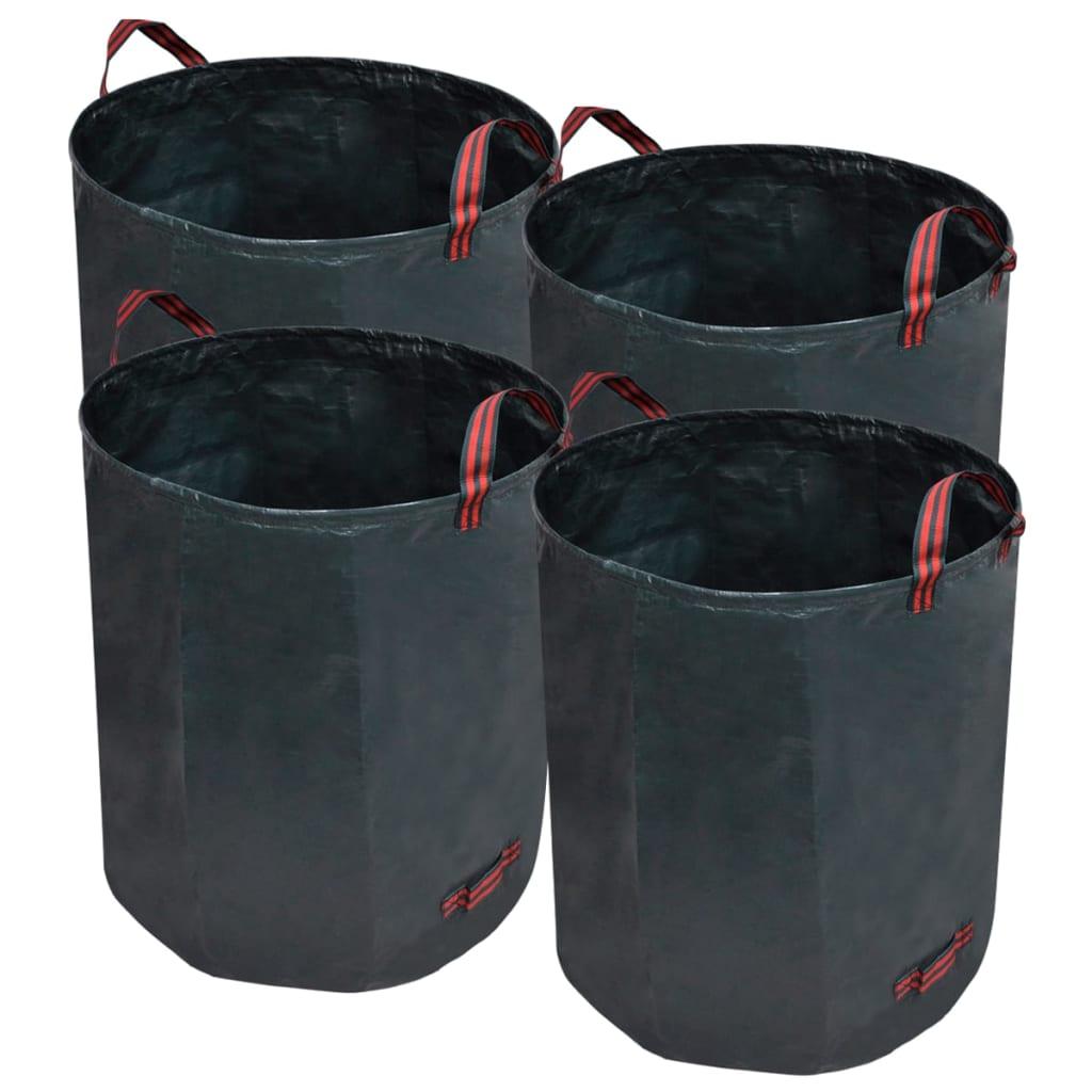 la boutique en ligne sac d chets vert fonc 4 pcs 272 l. Black Bedroom Furniture Sets. Home Design Ideas