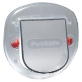 PetSafe 4-Way Pet Flap 270 Frosted 5000