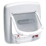 PetSafe Magnetisk 4-vägskattlucka Deluxe 400 vit 5005