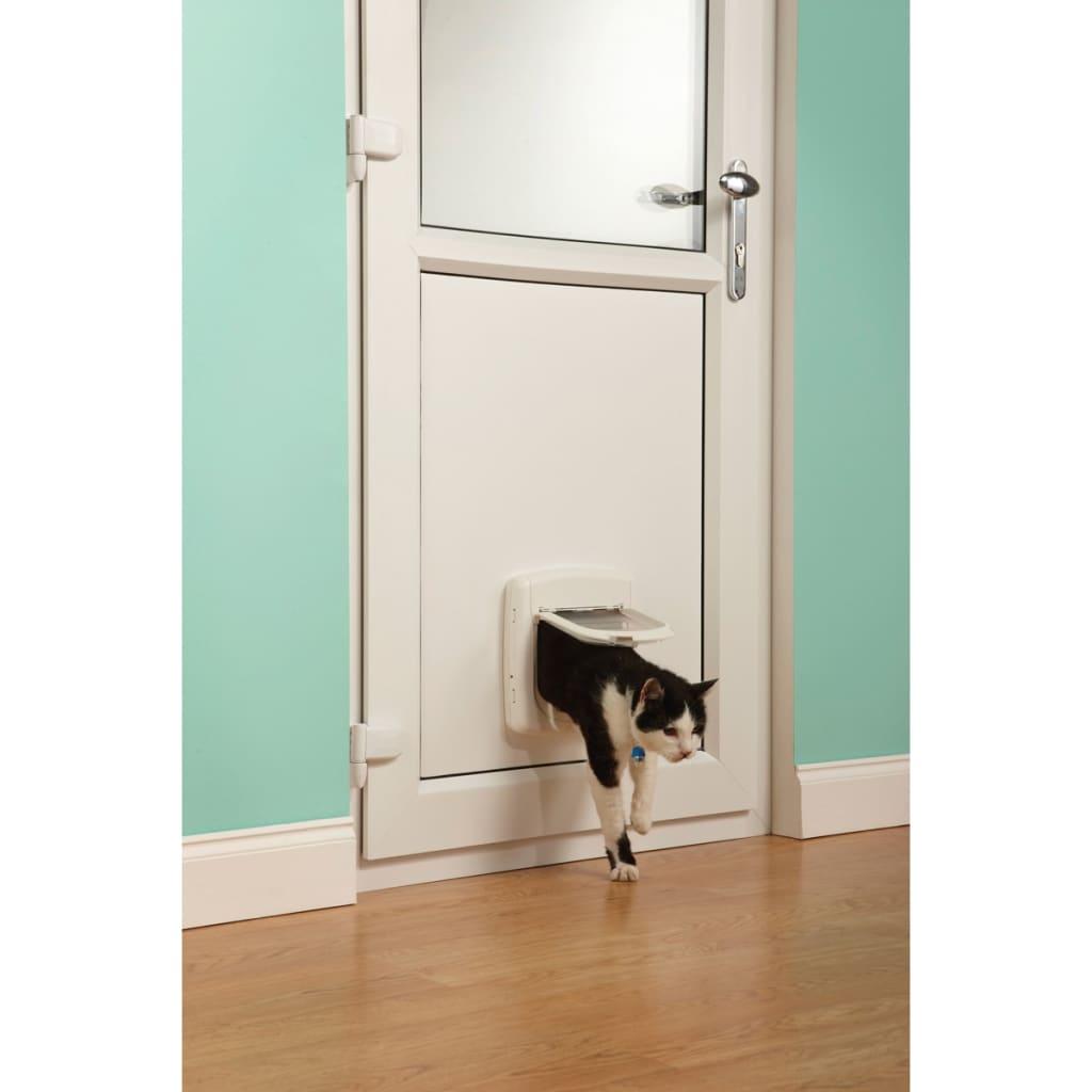 Petsafe porta basculante per gatti a infrarossi a 4 - Porta per gatti ...