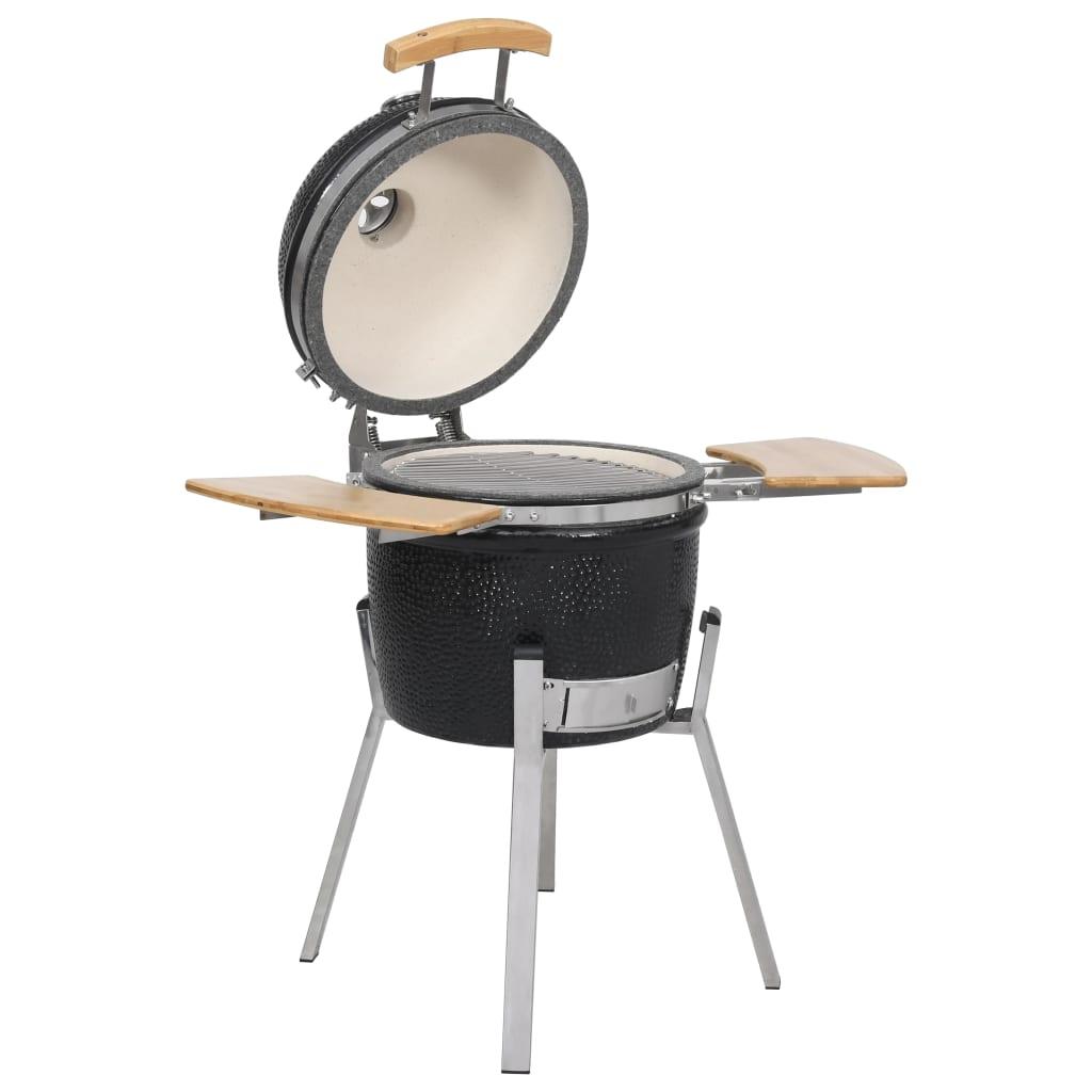 kamado barbecue grill r ucherofen keramik 76 cm g nstig kaufen. Black Bedroom Furniture Sets. Home Design Ideas