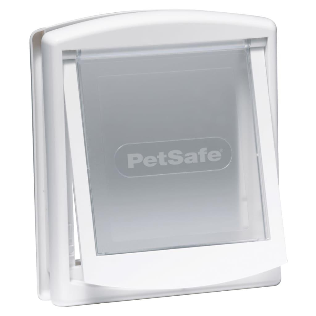 Afbeelding van PetSafe Huisdierenluik in 2 richtingen 715 small 17,8 x 15,2 cm wit 5017