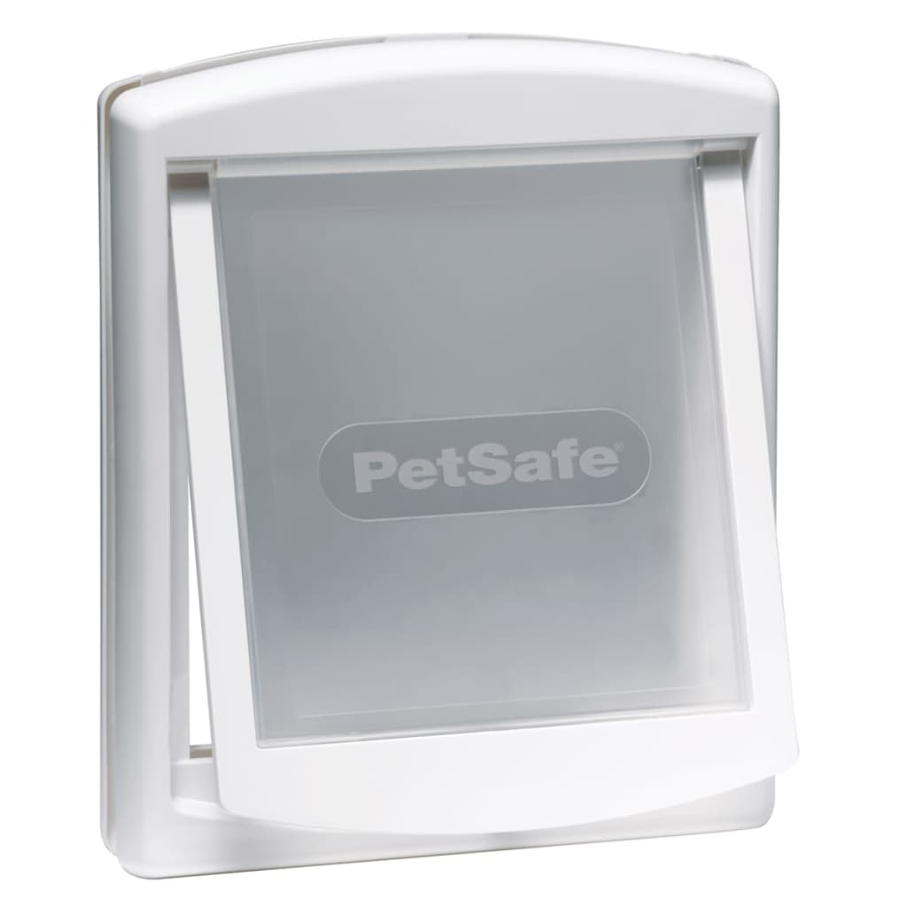 Afbeelding van PetSafe Huisdierenluik in 2 richtingen 740 Medium 26,7 x 22,8 cm Wit 5020