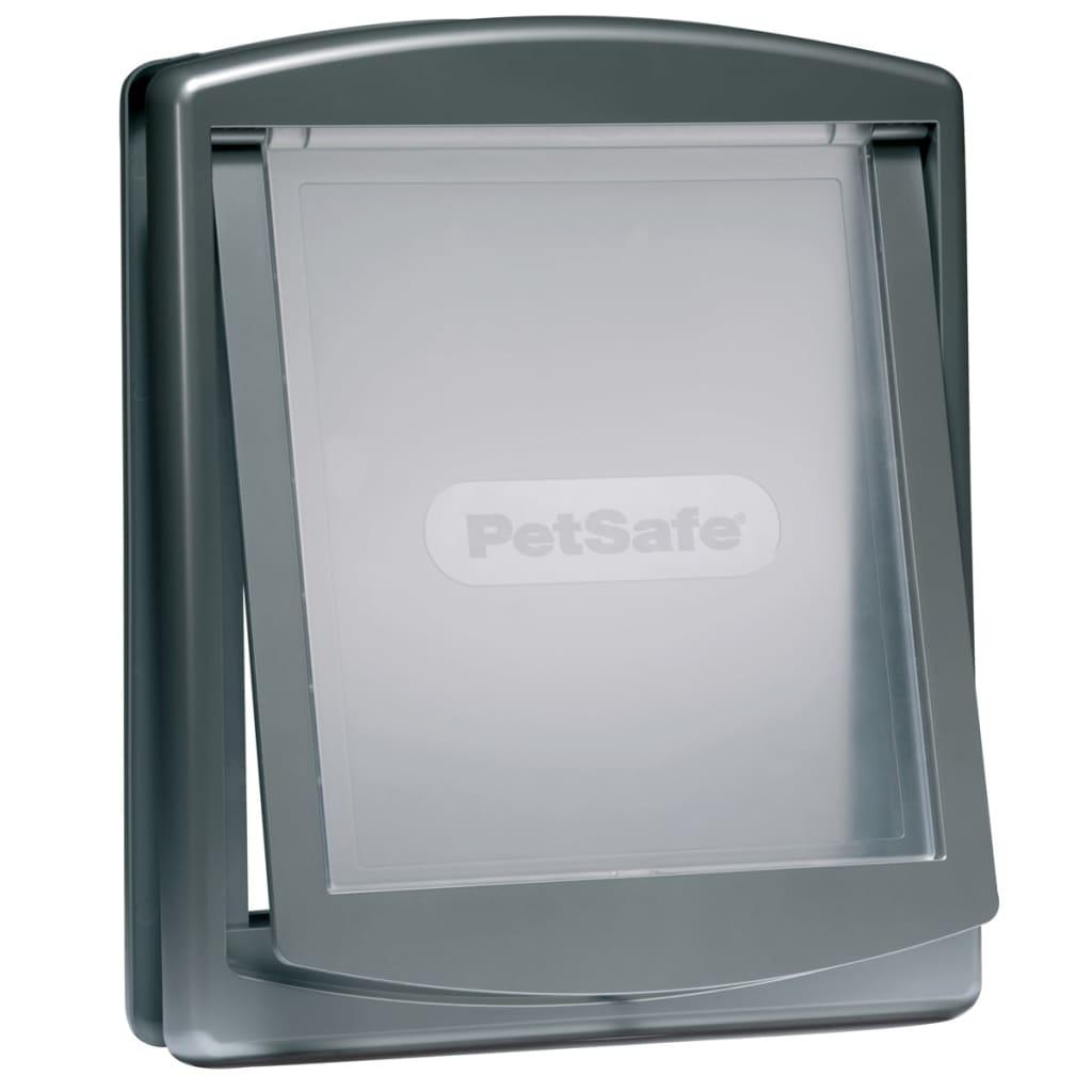 Afbeelding van PetSafe Huisdierenluik in 2 richtingen 777 large 35,6 x 30,5 cm zilver 5025