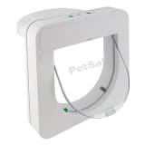 PetSafe Kattlucka med mikrochip PetPorte vit 904403