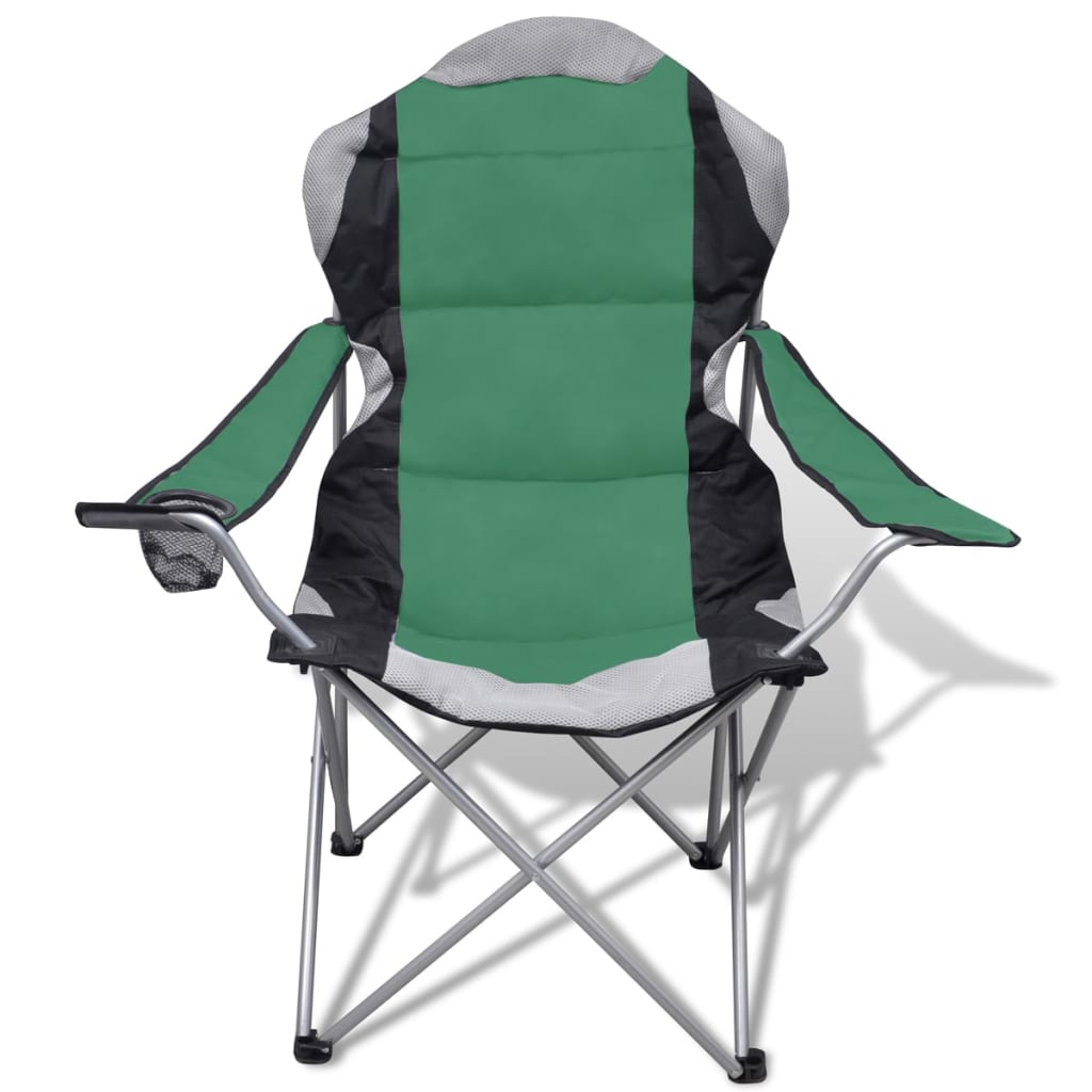 Folding Chair Set 2 Pcs Camping Outdoor Chairs Xxl Bag
