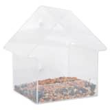 Esschert Design Mangeoire de fenêtre Acrylique 15 x 10 x 15,3 cm