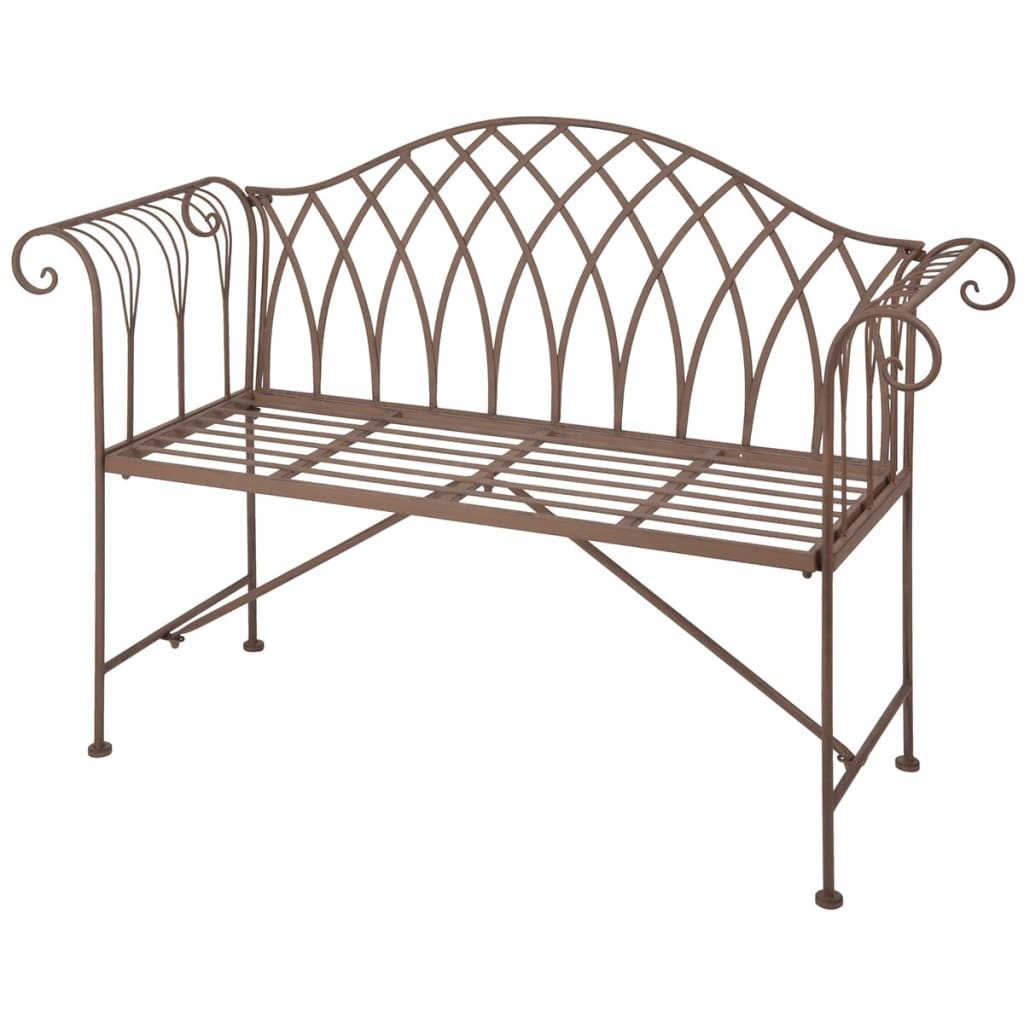 Esschert design garden bench metal old english style mf009 Garden benches metal