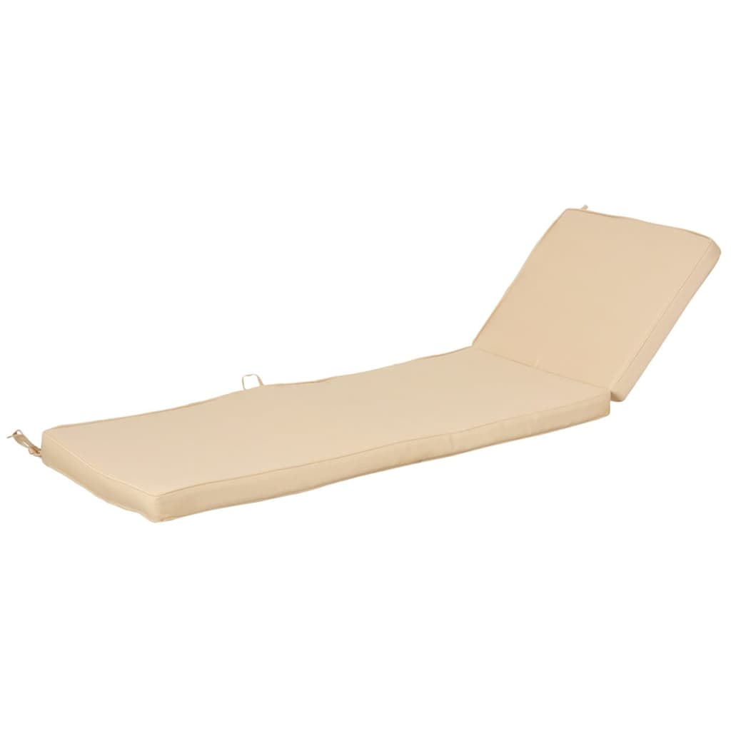 Acheter esschert design coussin de chaise longue 138 x 44 for Chaise beige pas cher