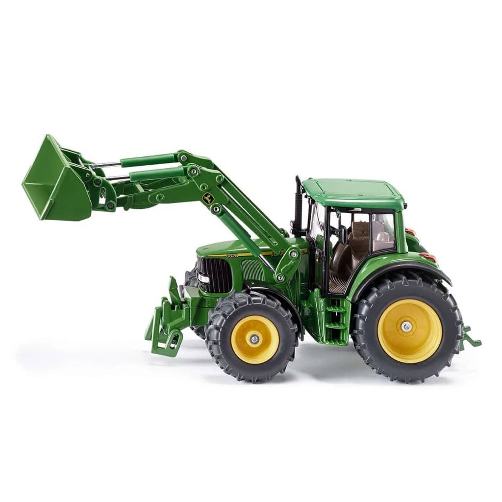 handla siku traktor med frontlastare john deere 1 32. Black Bedroom Furniture Sets. Home Design Ideas
